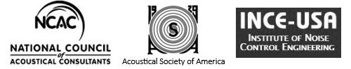 NCAC, ASA, INCE logos