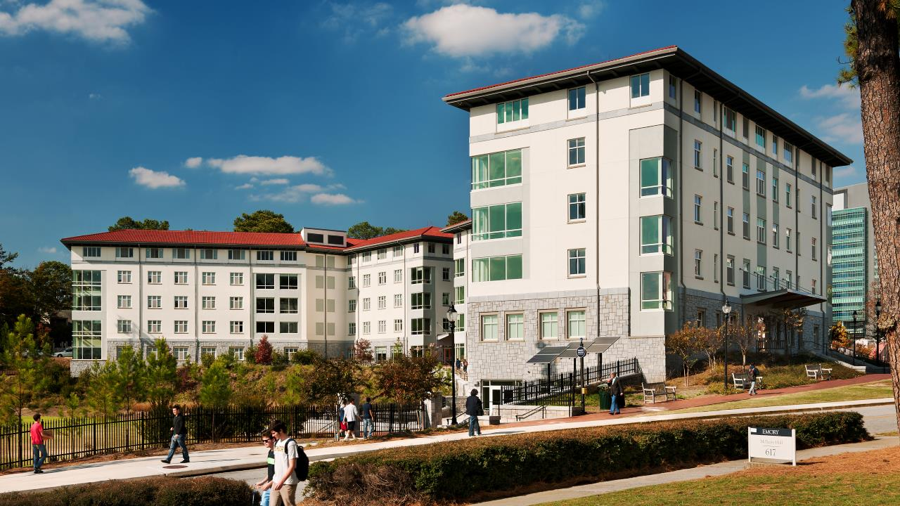 Emory University Few and Evans Residence Halls