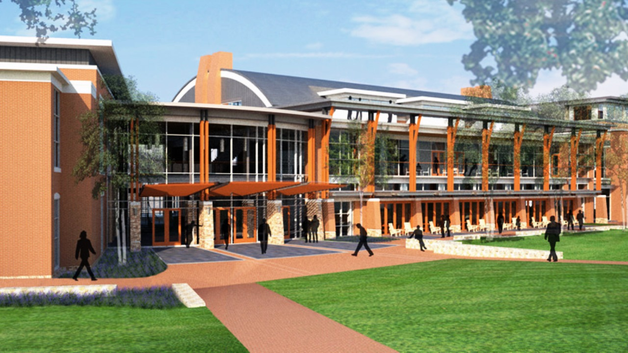 Young Harris Student Center Rendering