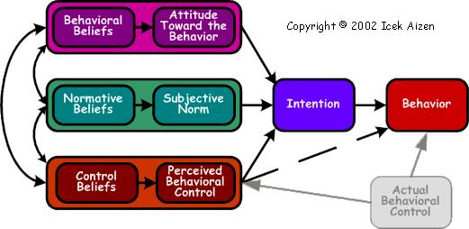 Theory of Planned Behavior - Azjen, I. (1991)