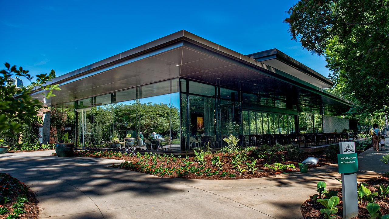 Atlanta Botanical Gardens - Longleaf Restaurant Exterior