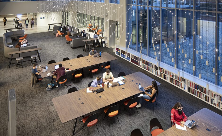 GT Price Gilbert Library and Crosland Tower Renovation