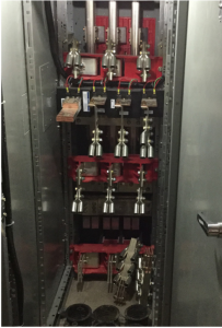 Draw-out circuit breaker compartments