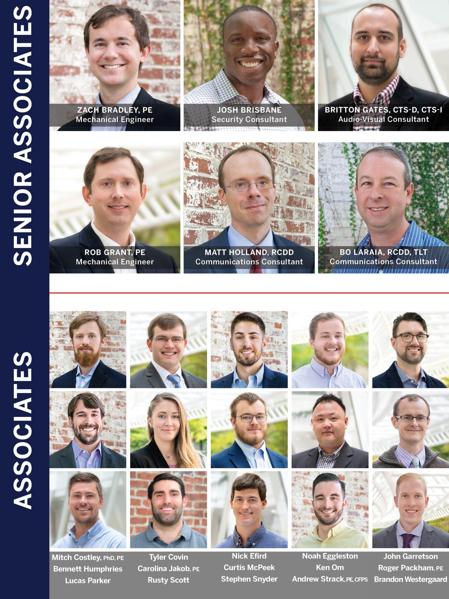 Senior Associates and Associates