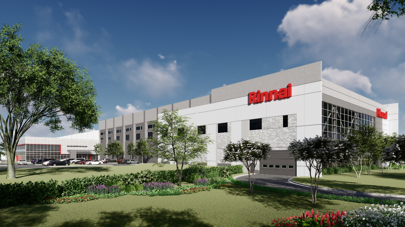 Rinnai America Corporation Manufacturing Facility