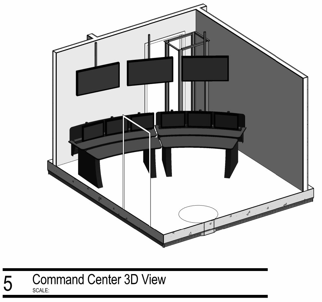 Modern Day Security Control Rooms and Security Console Design